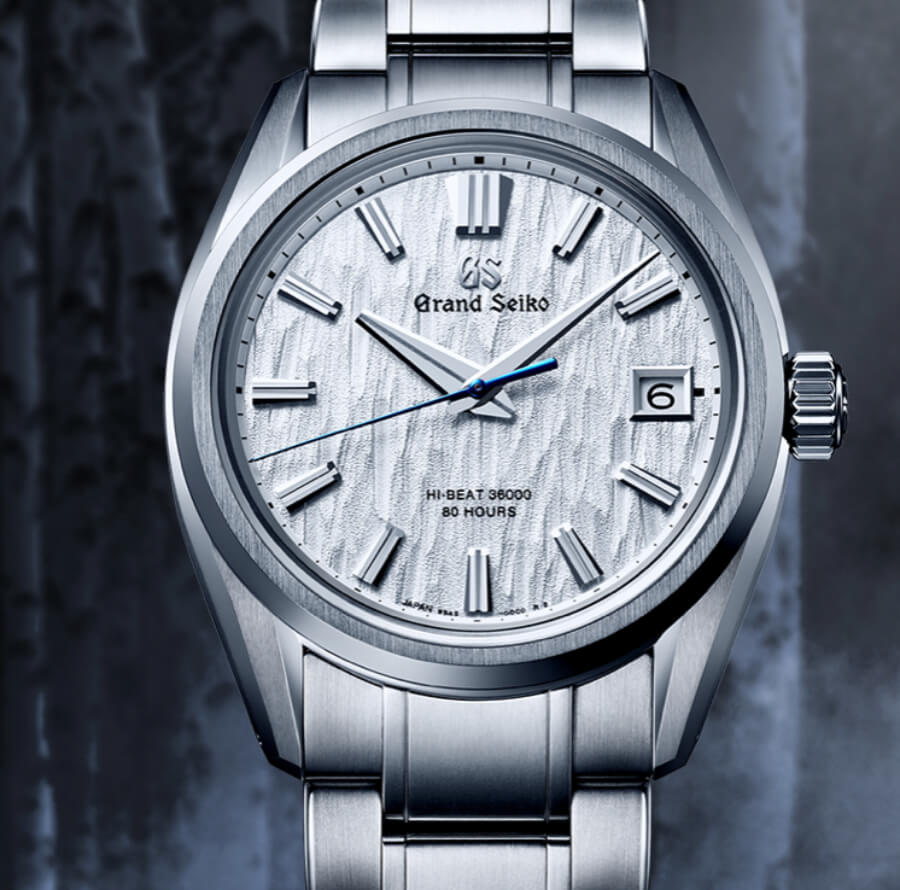 "Grand Seiko Heritage Hi-Beat ""White Birch"" SLGH005"