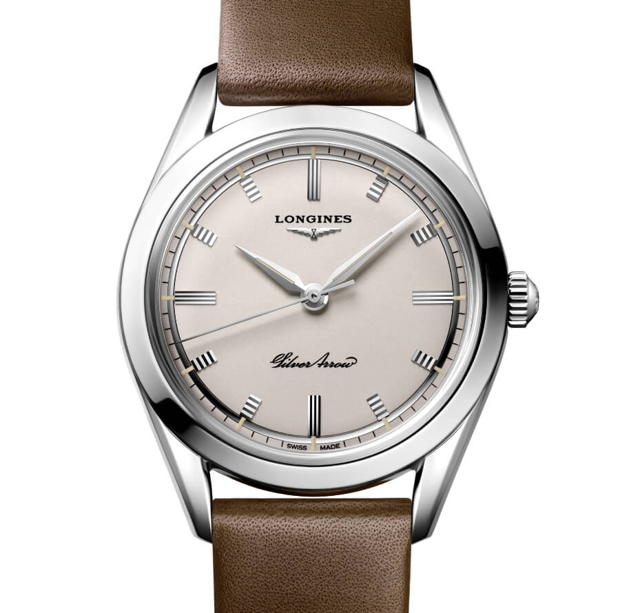 The New Longines Silver Arrow