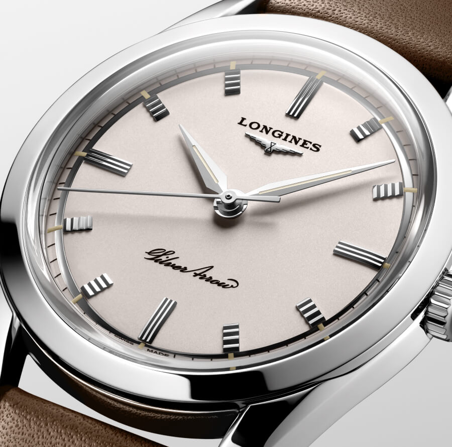 Longines Silver Arrow Dial