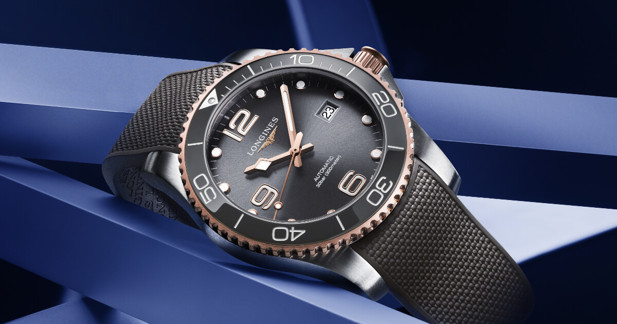 The New Longines HydroConquest 41mm Two-Tone Collection (Price, Pictures and Specifications)