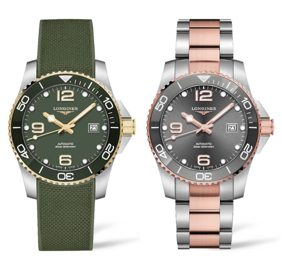 Longines HydroConquest 41mm Two-Tone Collection