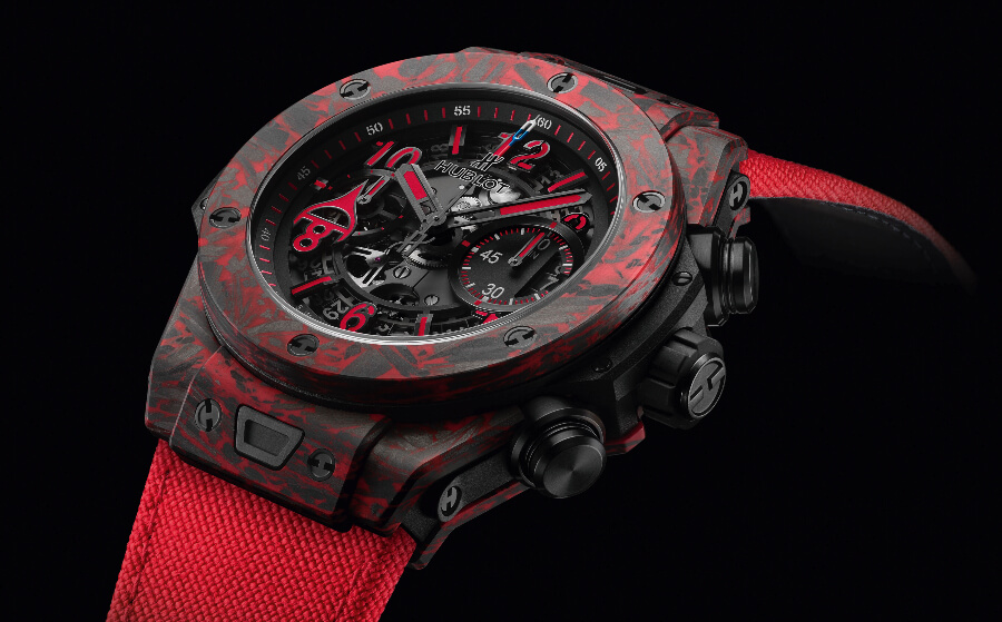 Review Hublot Big Bang Unico Red Carbon Alex Ovechkin