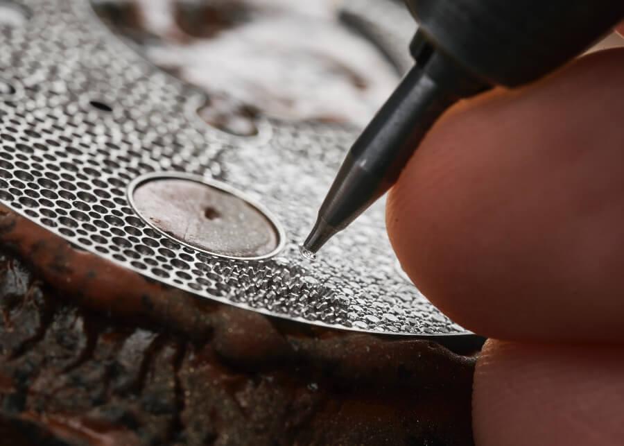Ulysse Nardin Sparkling Free Wheel Dial full diamond