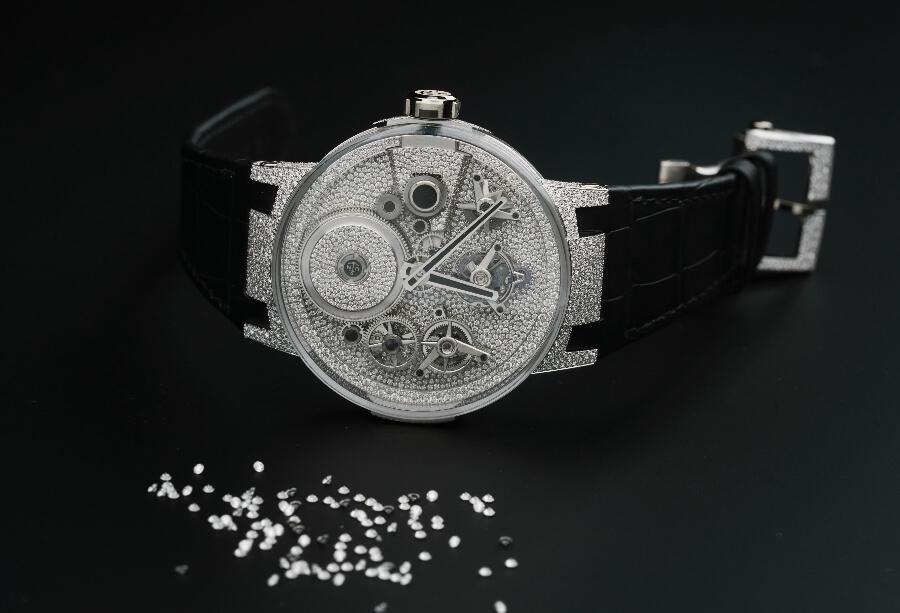 Ulysse Nardin Sparkling Free Wheel Watch Review