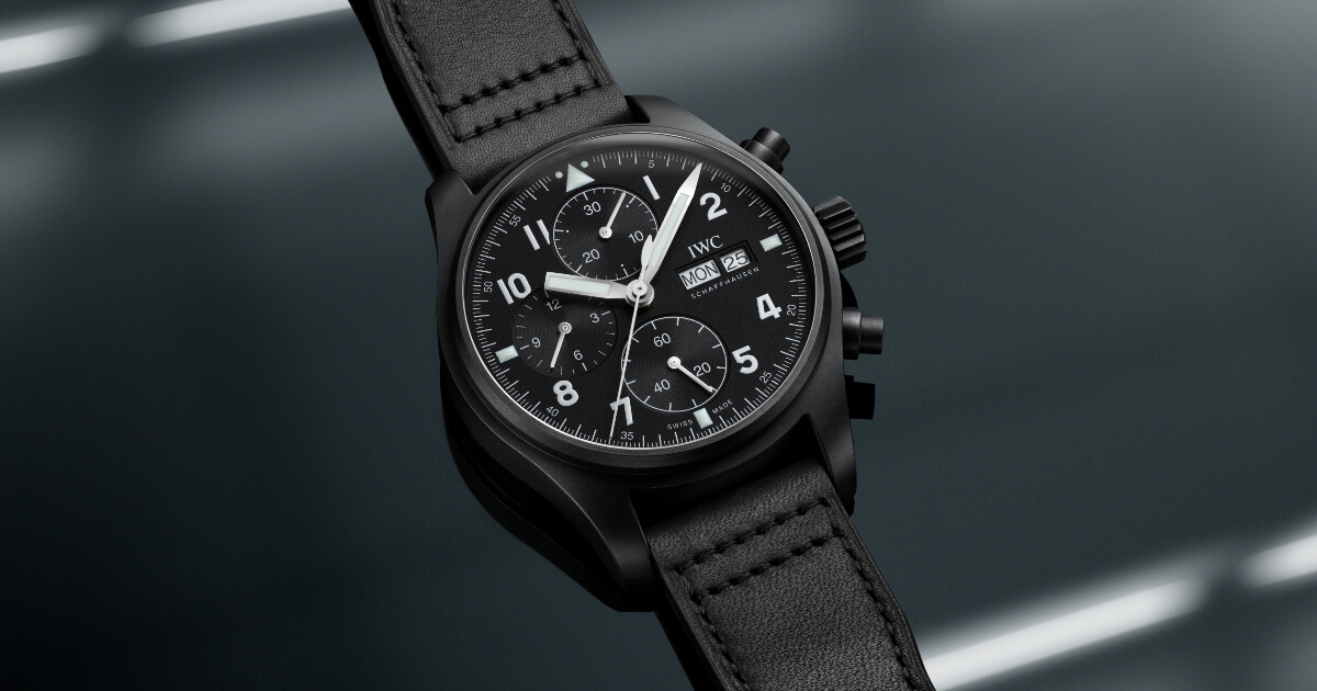 """IWC Pilot's Watch Chronograph Edition """"Tribute To 3705"""" (Price, Pictures and Specifications)"""