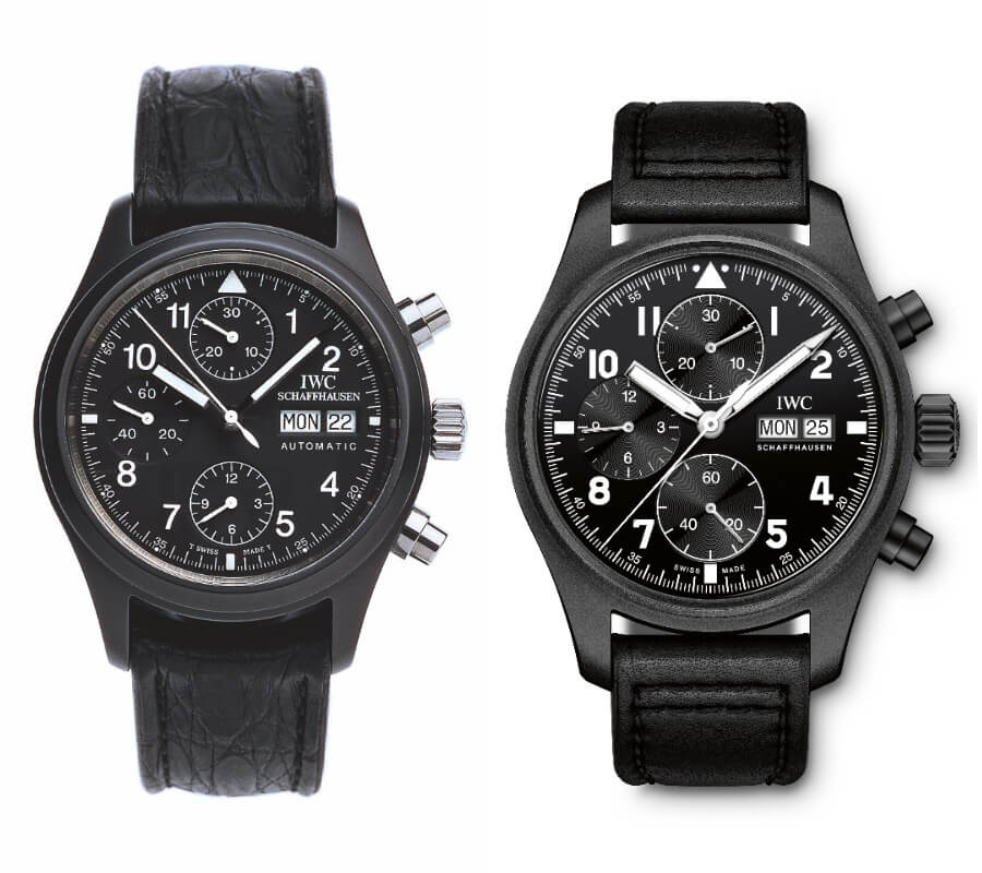 The IWCCeramic Fliegerchronograph Ref. 3705 from 1994