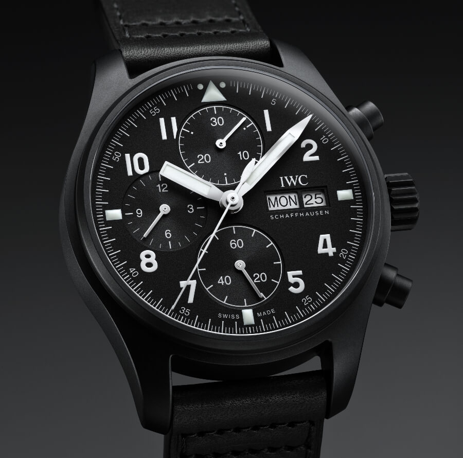 """IWC Pilot's Watch Chronograph Edition """"Tribute To 3705""""  Review"""