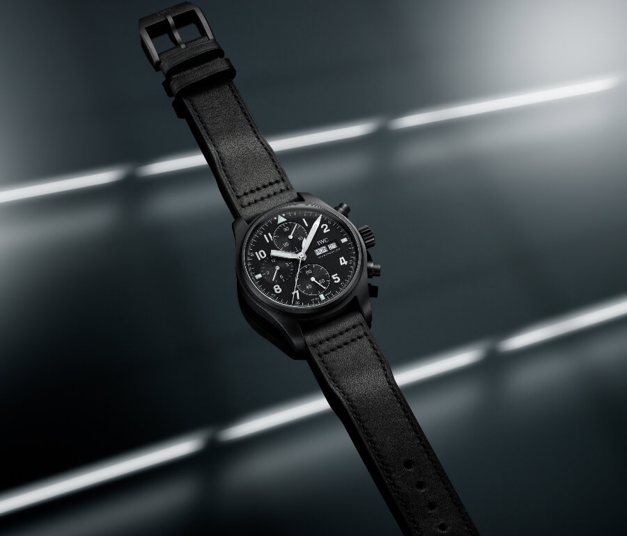 """Review IWC Pilot's Watch Chronograph Edition """"Tribute To 3705"""""""