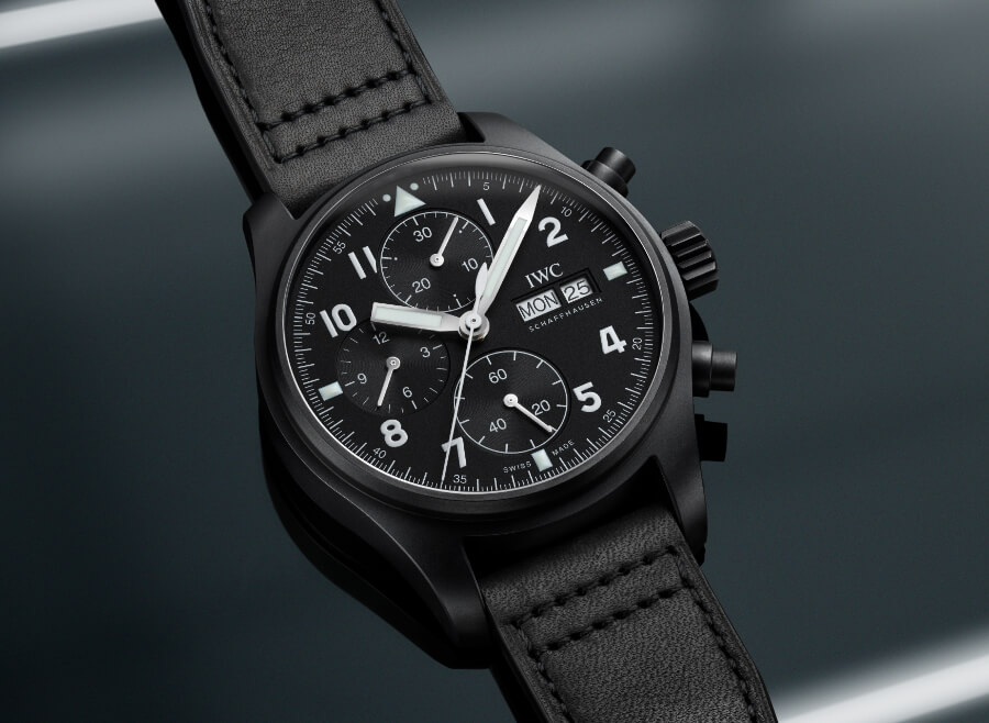 """IWC Pilot's Watch Chronograph Edition """"Tribute To 3705"""" Watch Review"""