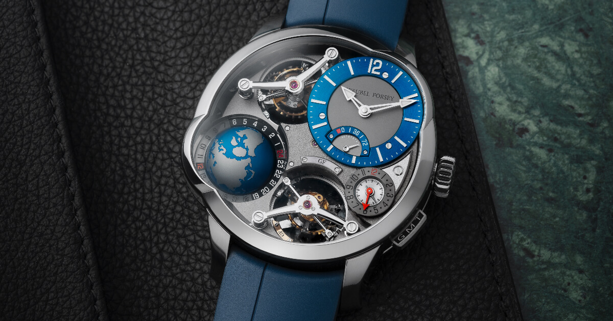 Greubel Forsey GMT Quadruple Tourbillon (Price, Pictures and Specifications)