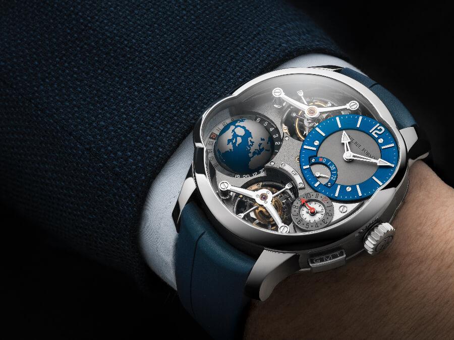 Greubel Forsey GMT Quadruple Tourbillon Titanium Watch Review