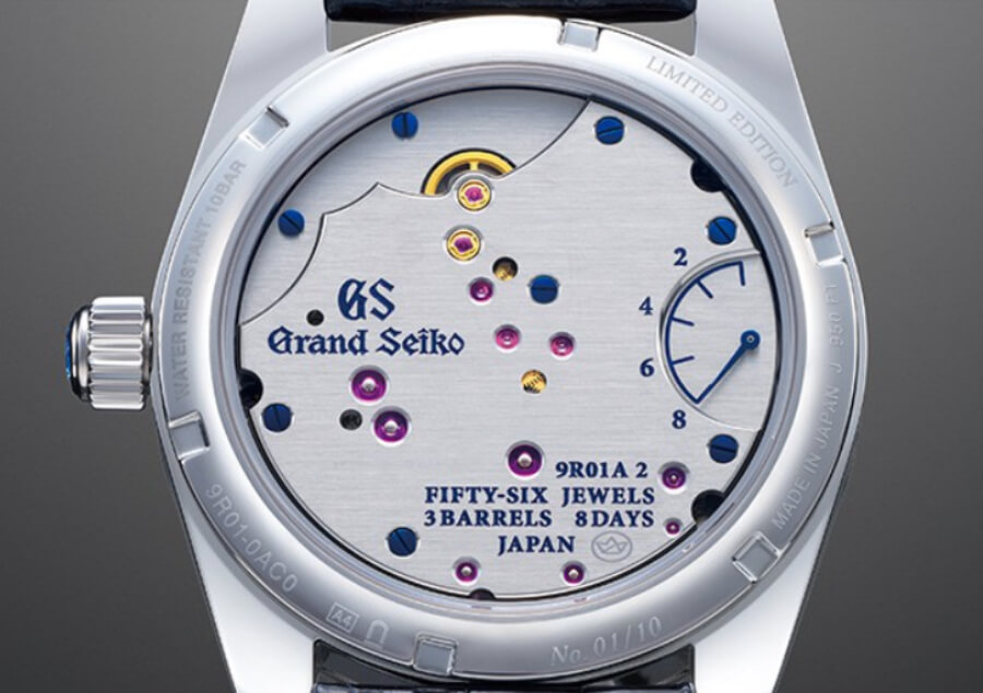 Grand Seiko Spring Drive 8-day Caliber 9R01
