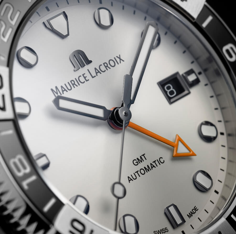 Maurice Lacroix Aikon Venturer GMT White Dial