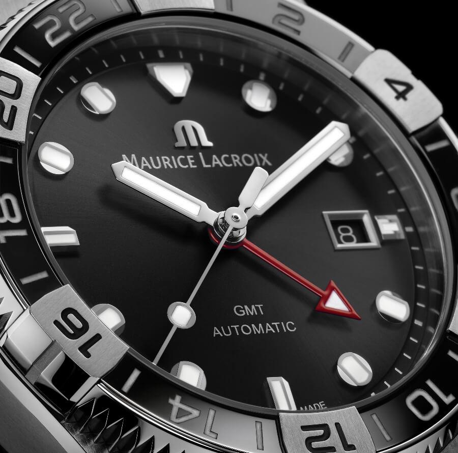 Maurice Lacroix Aikon Venturer GMT Black Dial
