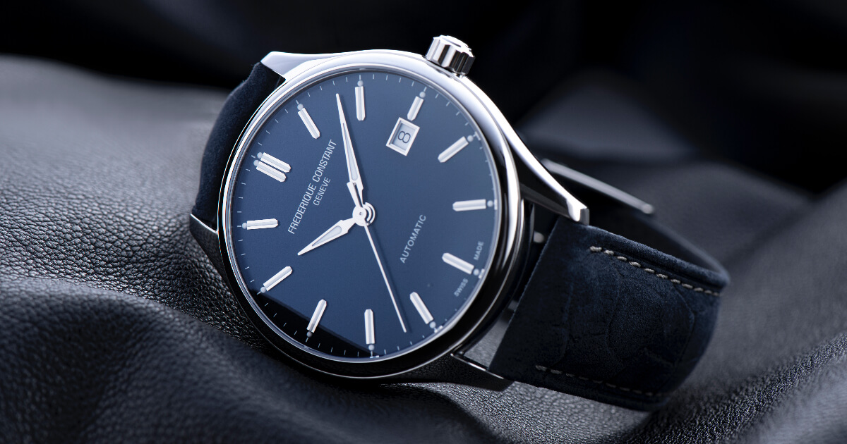 The New Frederique Constant Classics Collection (Price, Pictures and Specifications)