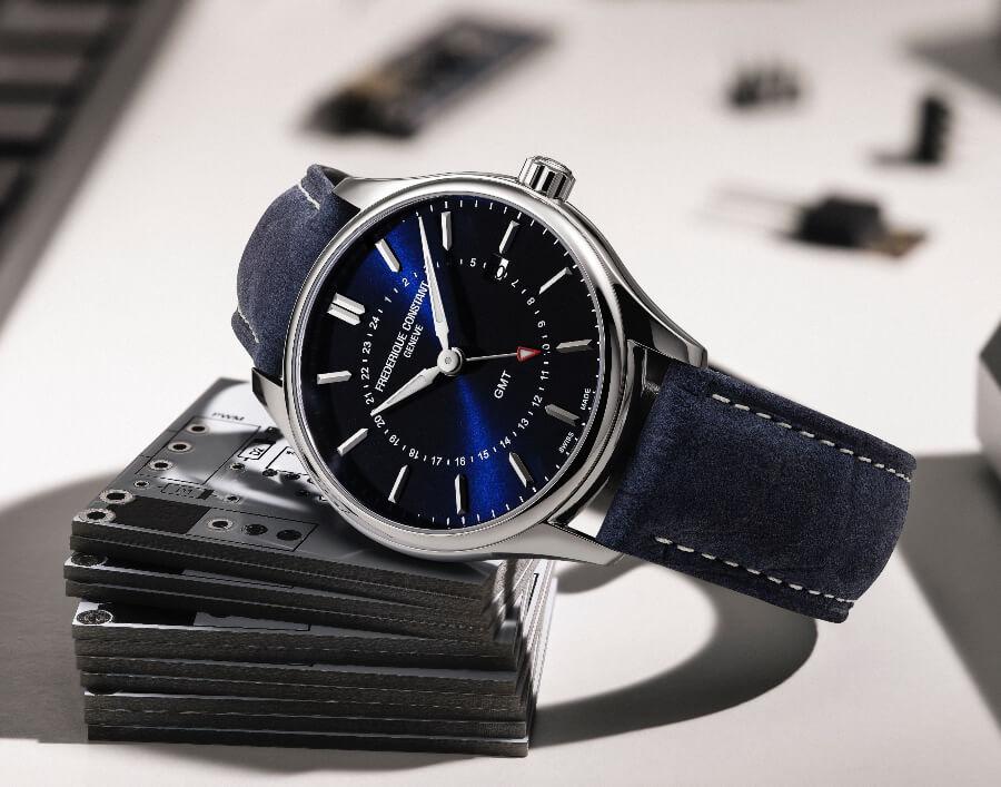 Review Frederique Constant Classics Quartz GMT