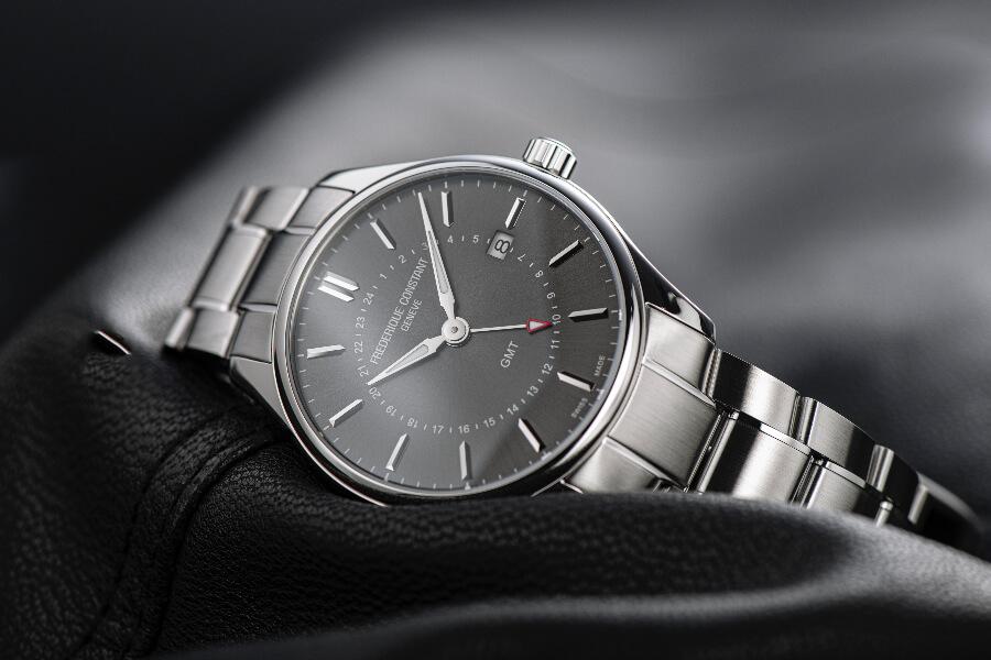 Frederique Constant Classics Quartz GMT Watch Review