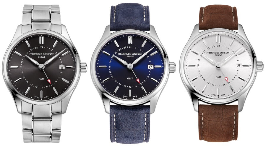 Frederique Constant Classics Quartz GMT