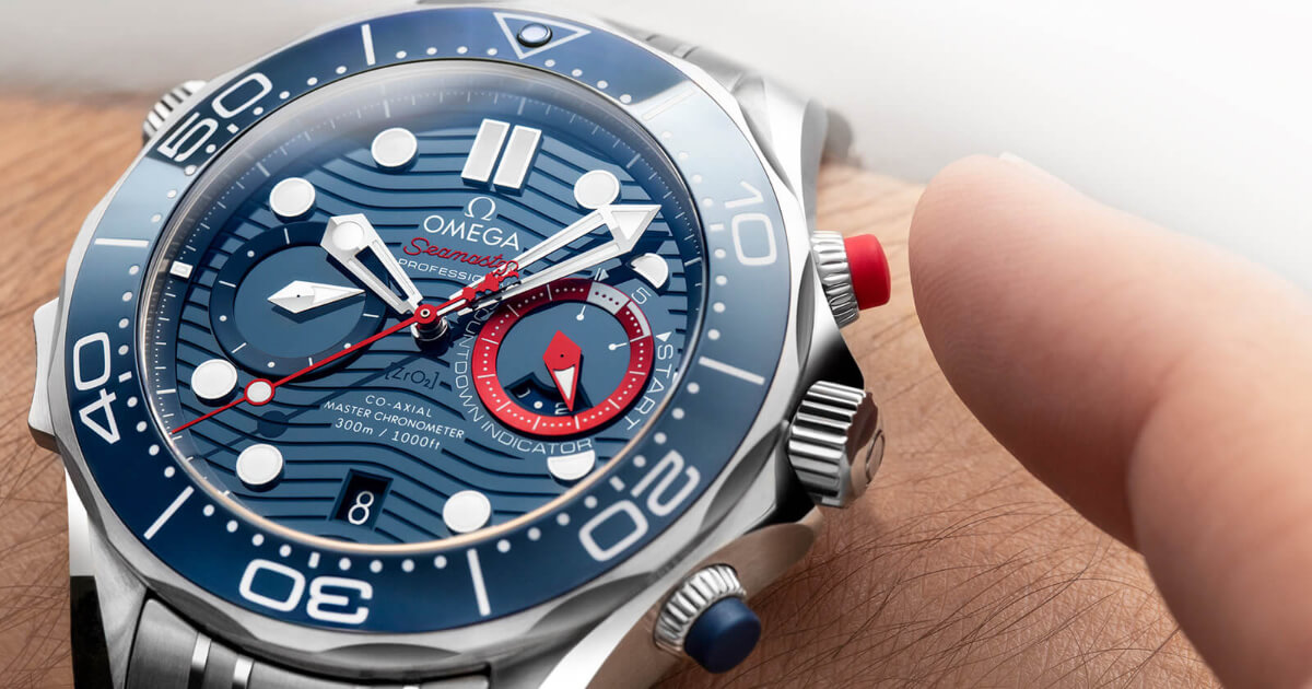 Omega Seamaster Diver 300M America's Cup Chronograph (Price, Pictures and Specifications)