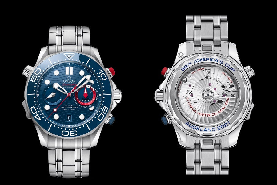 Omega Seamaster Diver 300M America's Cup Chronograph Review