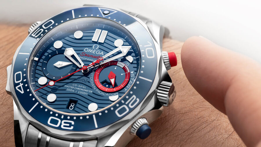 Omega Seamaster Diver 300M America's Cup Chronograph Watch Review