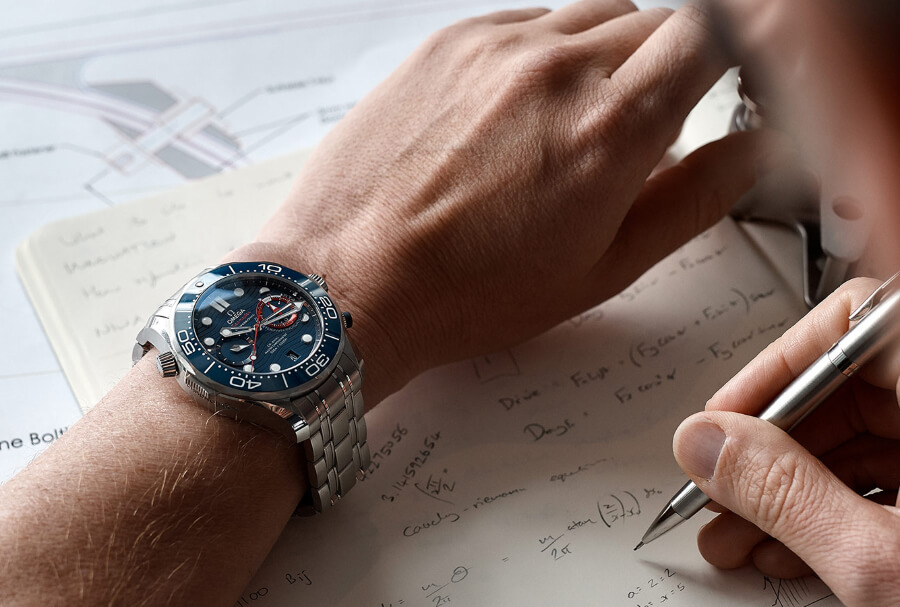 Review Omega Seamaster Diver 300M America's Cup Chronograph