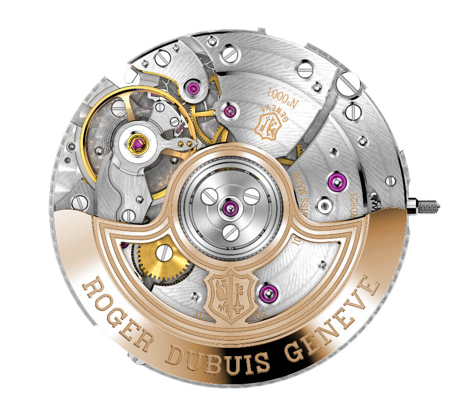 Roger Dubuis Calibre RD821