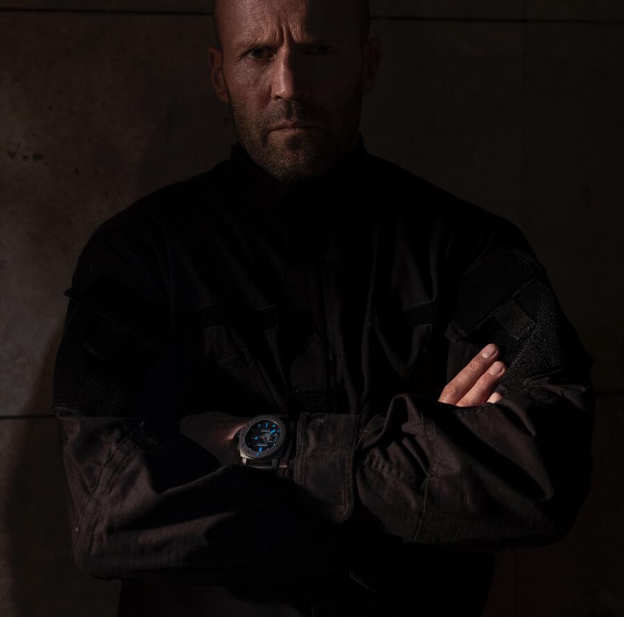 Jason Statham Five Eyes Movie Wearing The Panerai Submersible Carbotech 47mm (PAM1616)