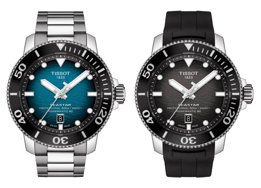 Tissot Dive watches