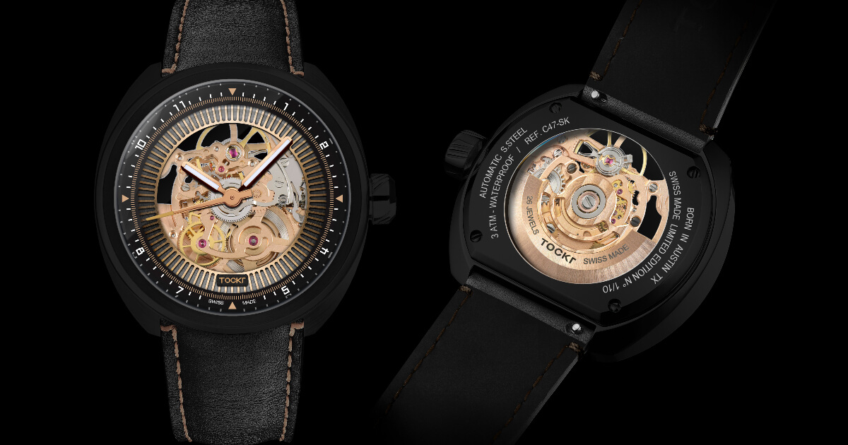 Tockr C-47 Dark Spirit Skeleton Watch (Price, Pictures and Specifications)