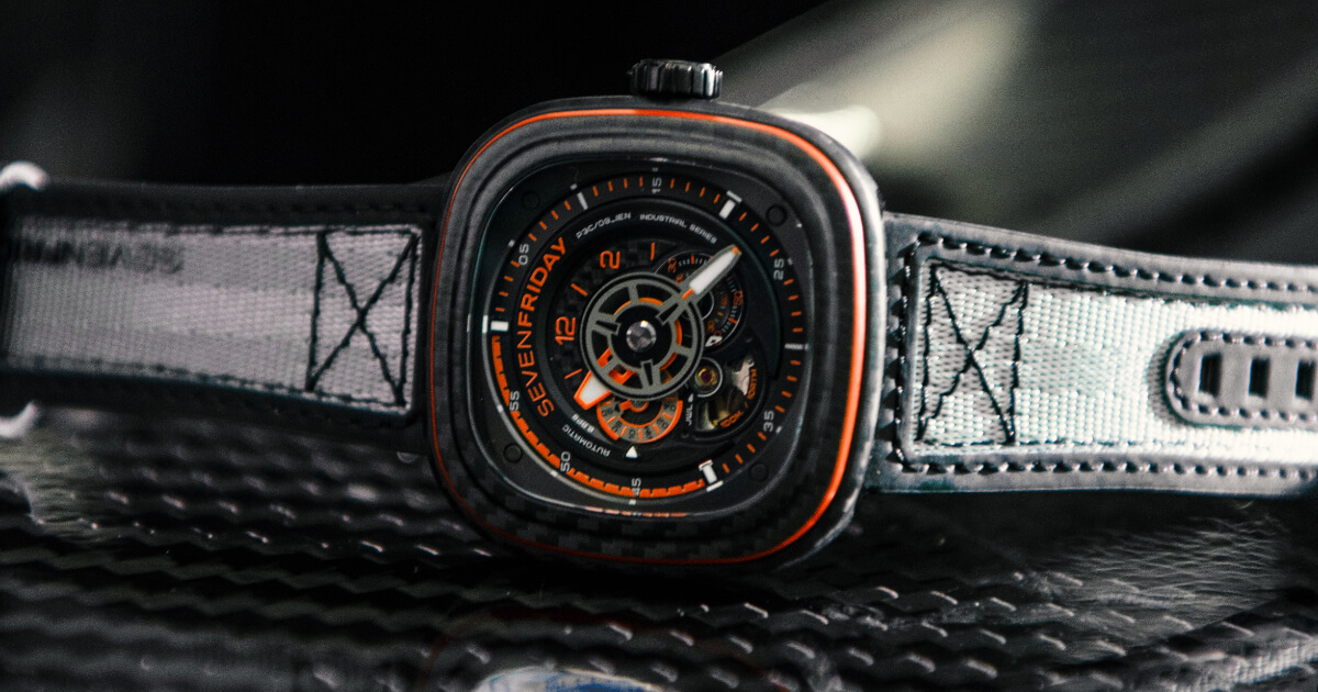 Sevenfriday P3C/09 Orange Carbon (Price, Pictures and Specifications)