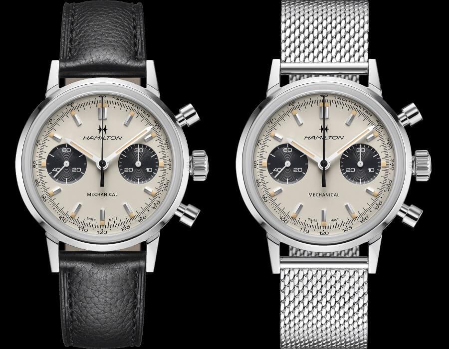 Review Hamilton Intra-Matic Chronograph H Panda Dial