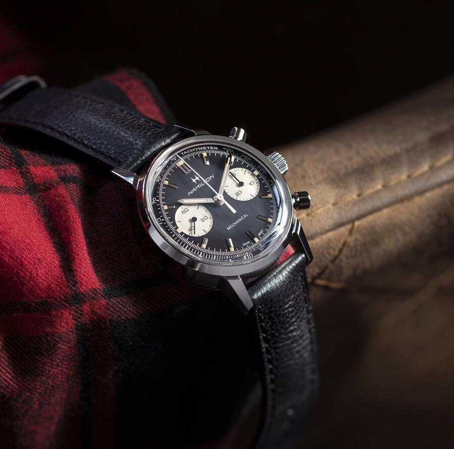 Men Watches Hamilton Intra-Matic Chronograph H