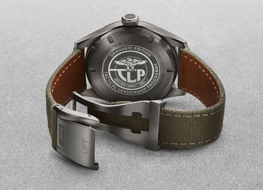 Oris TLP Limited Edition Case Back