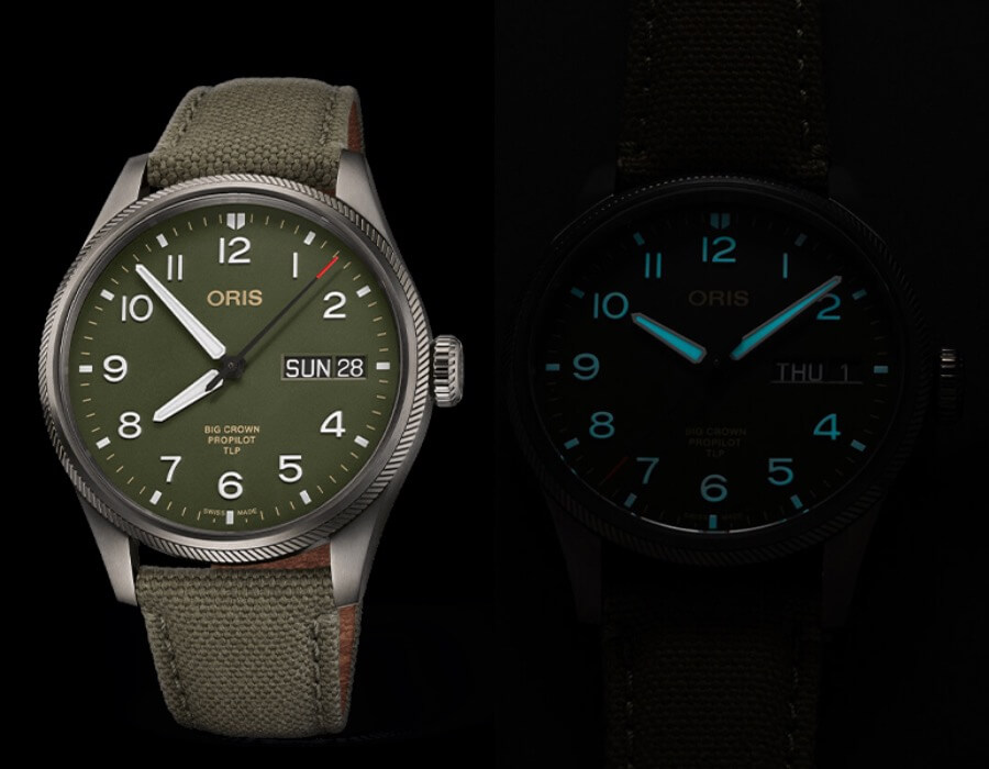 Oris ProPilot TLP Limited Edition Green Dial