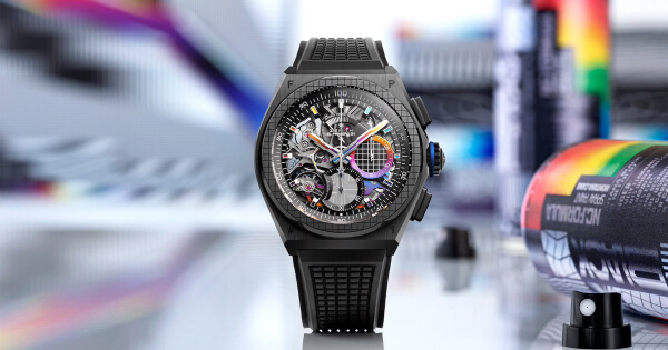 Zenith Defy 21 Felipe Pantone (Price, Pictures and Specifications)