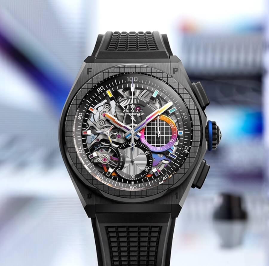The New Zenith Defy 21 Felipe Pantone Watch