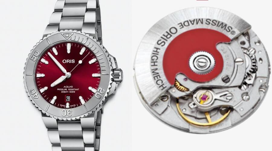 Oris Aquis Date Cherry Red 41.5 mm Watch Review