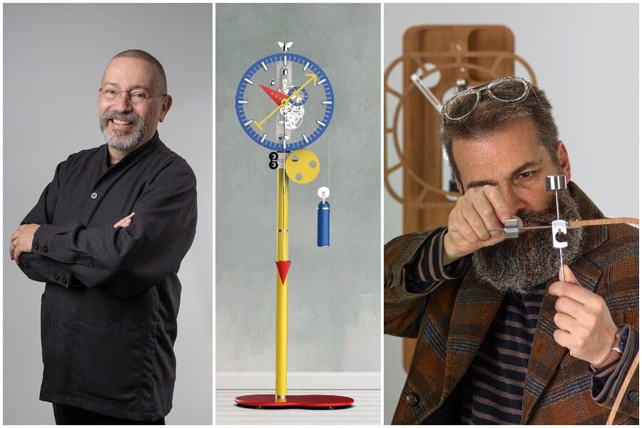 "Lebru X Silberstein ""KB2"" Clock"