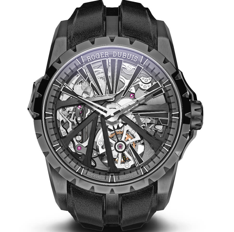 Roger Dubuis Excalibur Diabolus In Machina minute repeater and single flying tourbillon