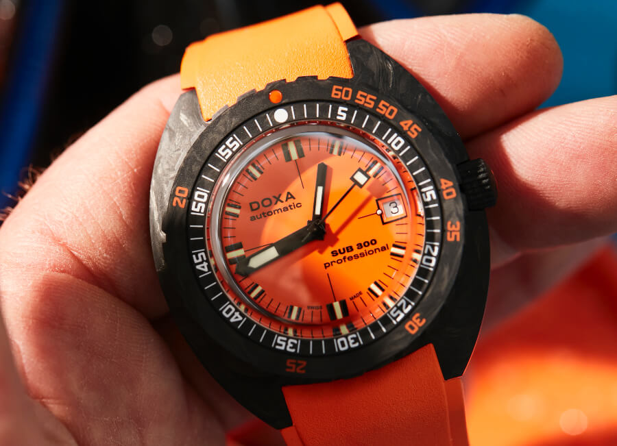 Doxa SUB 300 Carbon COSC Professional Watch Review