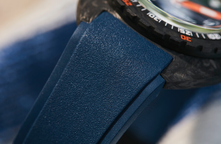 Doxa SUB 300 Carbon COSC Rubber Strap For Sale