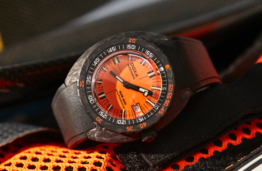The New Doxa SUB 300 Carbon COSC Watch