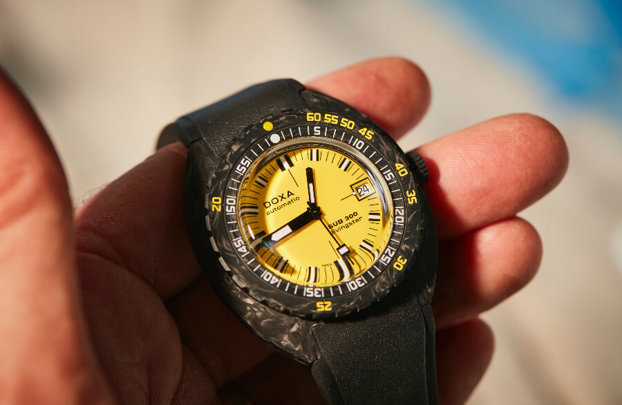 Doxa SUB 300 Carbon COSC Watch Review