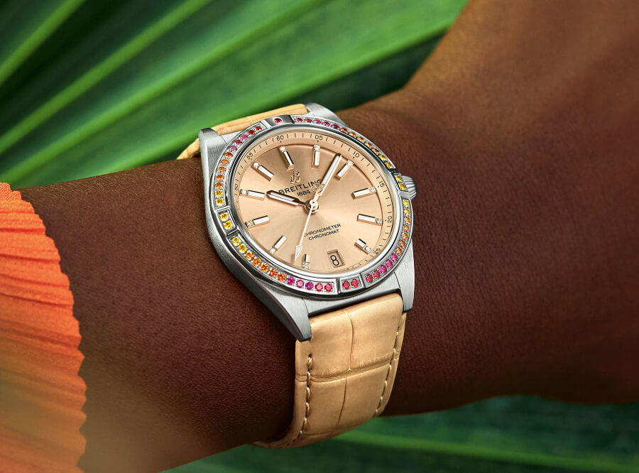 Women Watches Breitling Chronomat Automatic 36 South Sea Capsule Collection