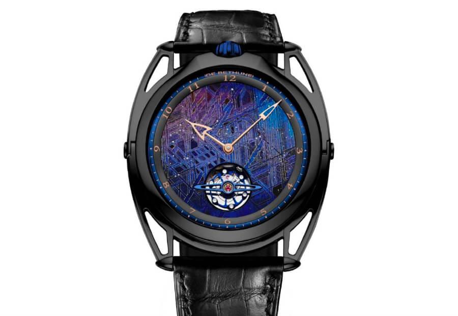 De Bethune DB28XP Meteorite Watch