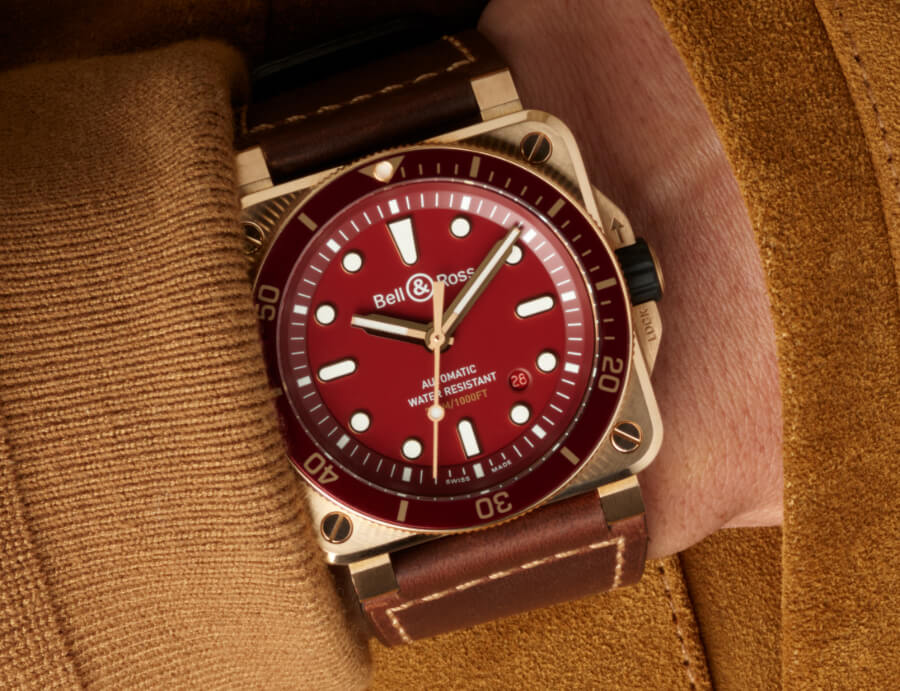 Bell & Ross BR 03-92 Diver Red Bronze Watch Review