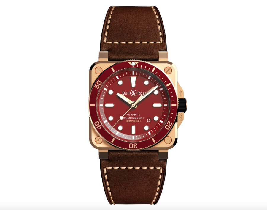 The New Bell & Ross BR 03-92 Diver Red Bronze