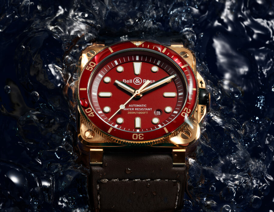 Review Bell & Ross BR 03-92 Diver Red Bronze