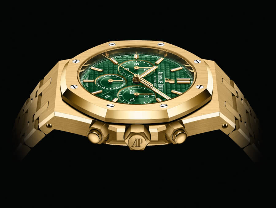 Audemars Piguet Royal Oak Selfwinding Chronograph Green Dial